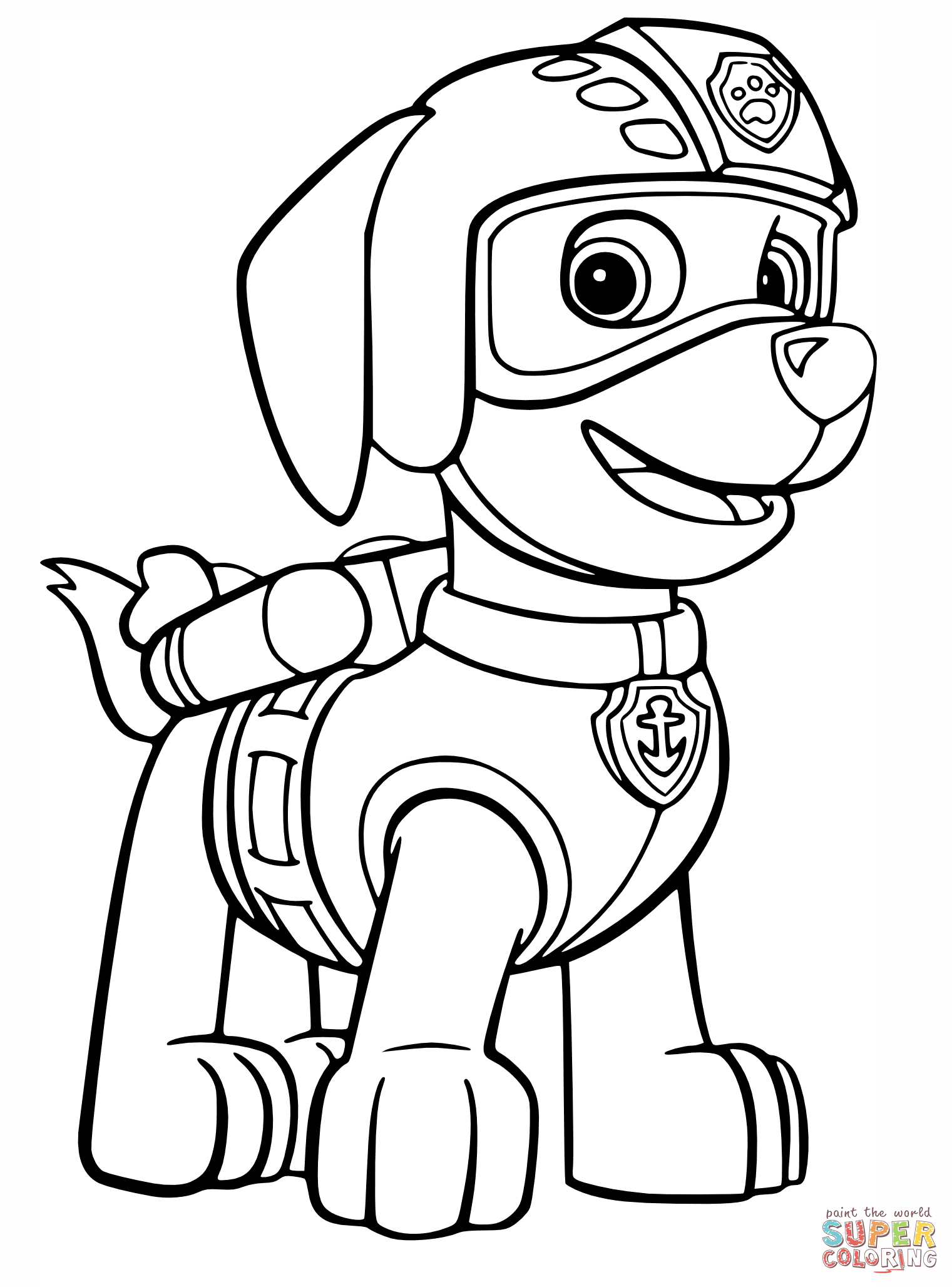 Paw Patrol Zuma Coloring Pages 01 Paw Patrol Coloring Pages Paw Patrol Coloring Paw Patrol Printables