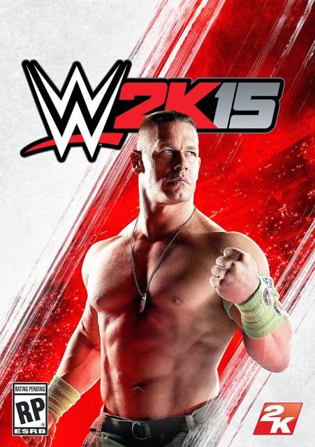 Wwe 2k15 Dvd Cover Games To Download Free Pinterest