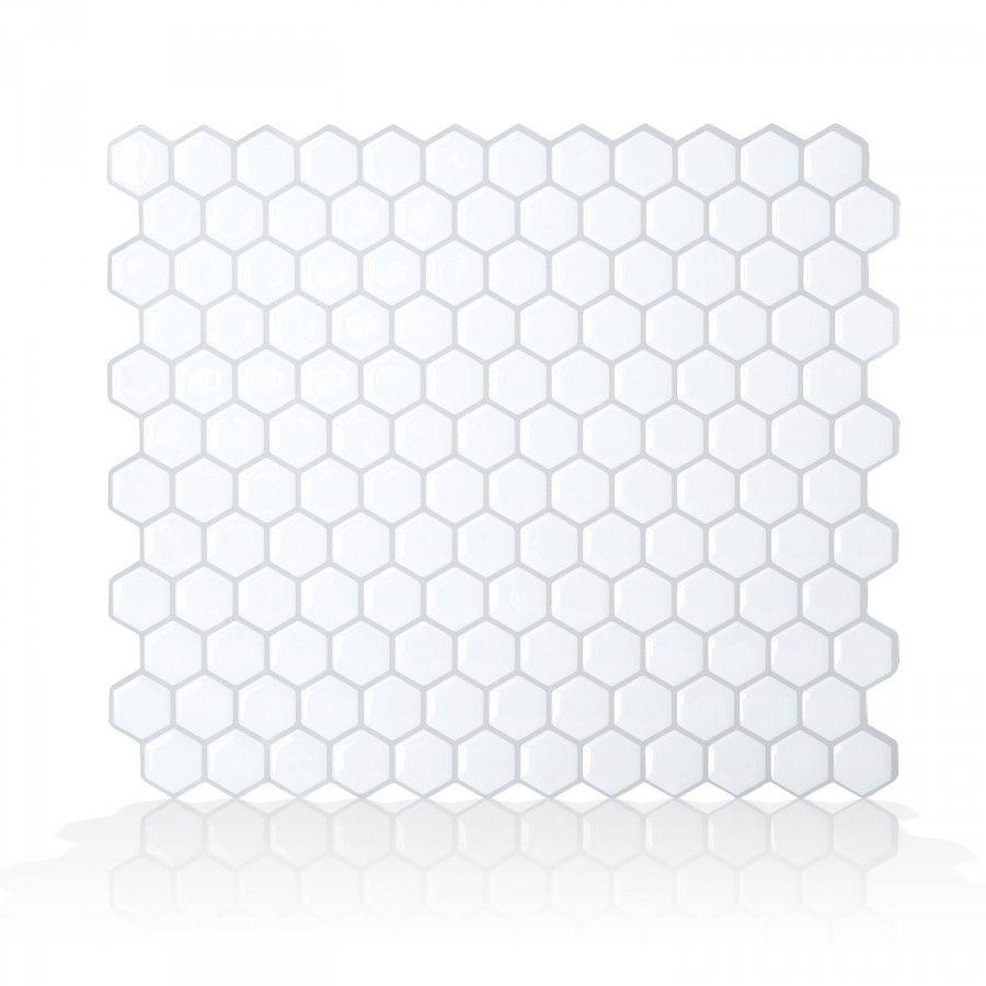 Hexago Carrelage Mural Adhesif Idees De Dosseret Et Carreaux De