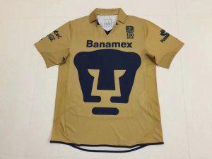 premium selection 5b396 12ce6 Pumas Unam 2010-11 Season Retro Golden Liga MX Jersey [K453 ...