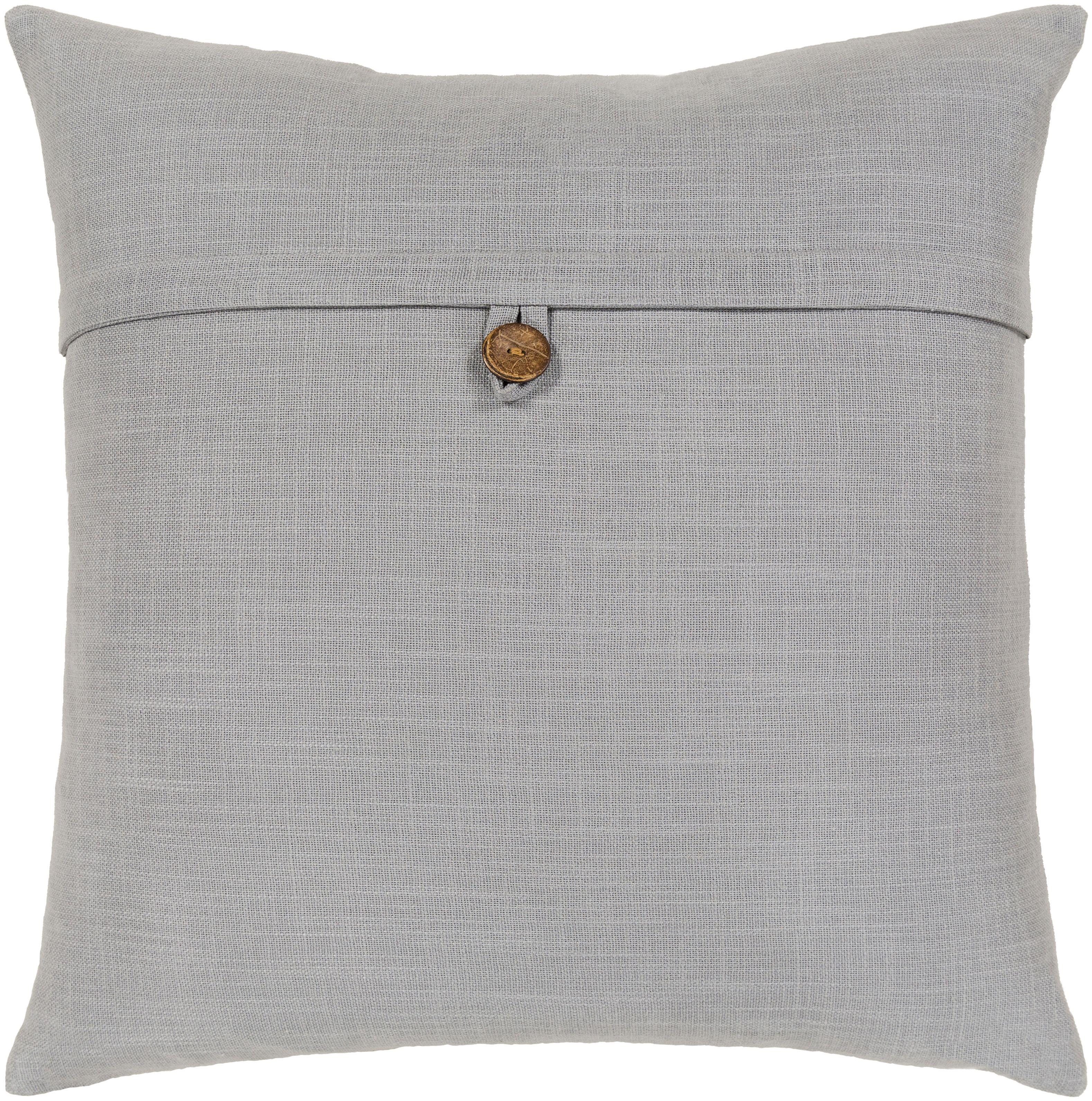 Jessie Pillow Light Gray Grey Throw Pillows Trending Decor