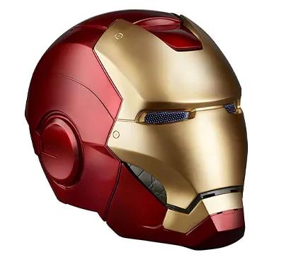 Marvel Legends Iron Man Electronic Helmet Mycrazygifts Com Iron Man Helmet Iron Man Cool Motorcycle Helmets