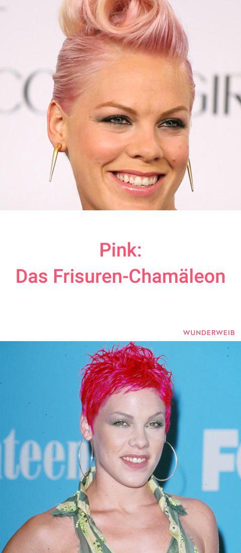 Frisuren Chamäleon Pink Die Schrägsten Looks Frisuren Pink