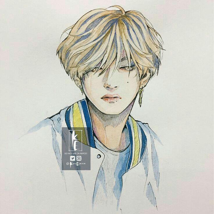 Pin By Yanawookie On Bts Bts Drawings Fan Art Bts Fanart
