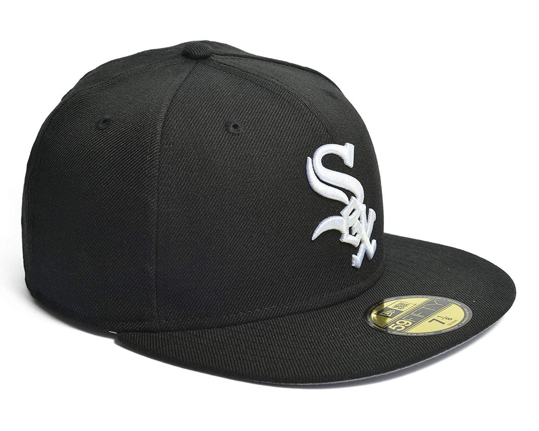 dff5ebd908a New Era Chicago White Sox Mlb Fitted Cap Black 7 1 2