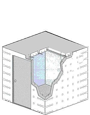 How To Build A Safe Room That Doubles As A Closet Hunker Storm Room Safe Room Tornado Room