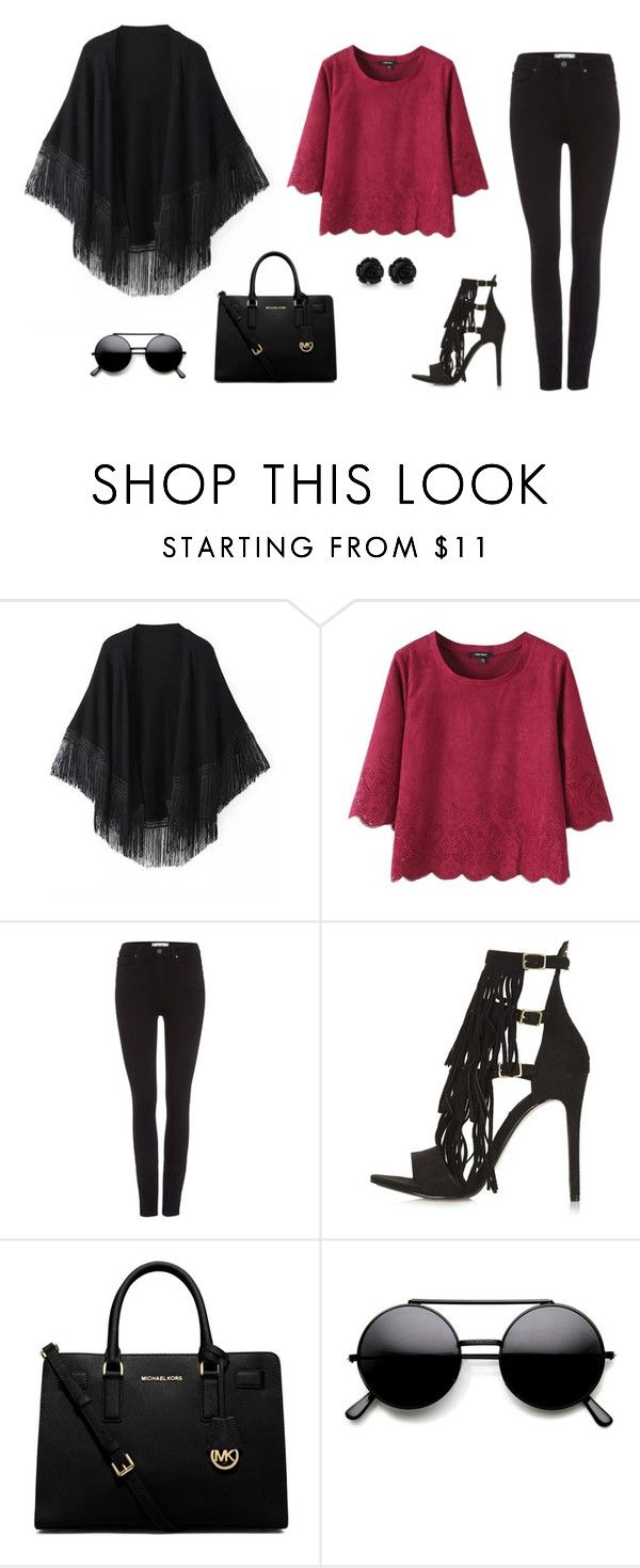 """""""Untitled #342"""" by alex-gucka ❤ liked on Polyvore featuring Relaxfeel, Paige Denim, Topshop and MICHAEL Michael Kors"""