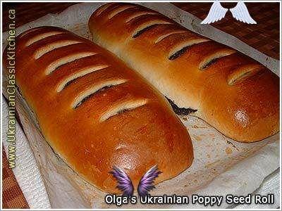 OLGA'S UKRAINIAN CHRISTMAS POPPY SEED ROLL / MAKIVNYK OLGA ...