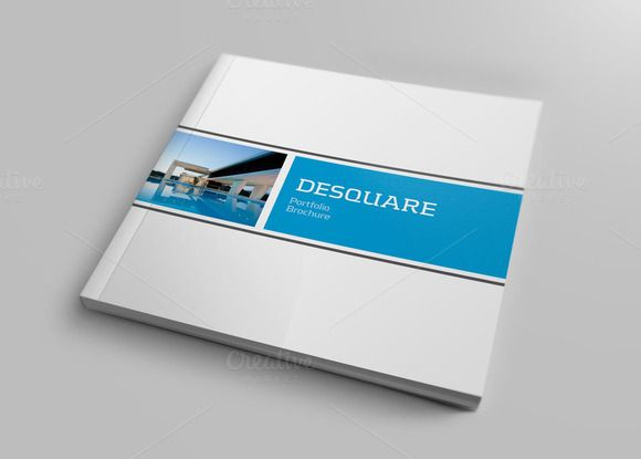Check Out Square Portfolio Brochure By Banks On Creative Market