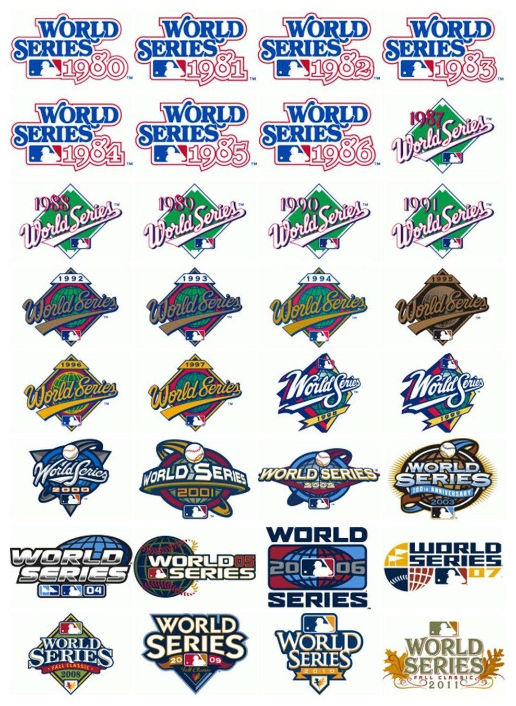 World Series Logos Sports Logo Design Logo Design Sports Logo