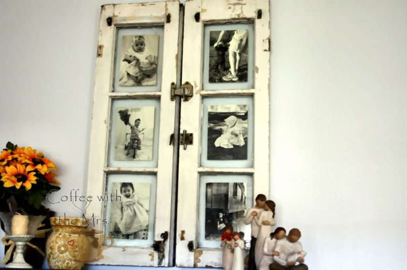 Coffee With The Mrs.: My DIY Window~Frame | For the Home | Pinterest ...