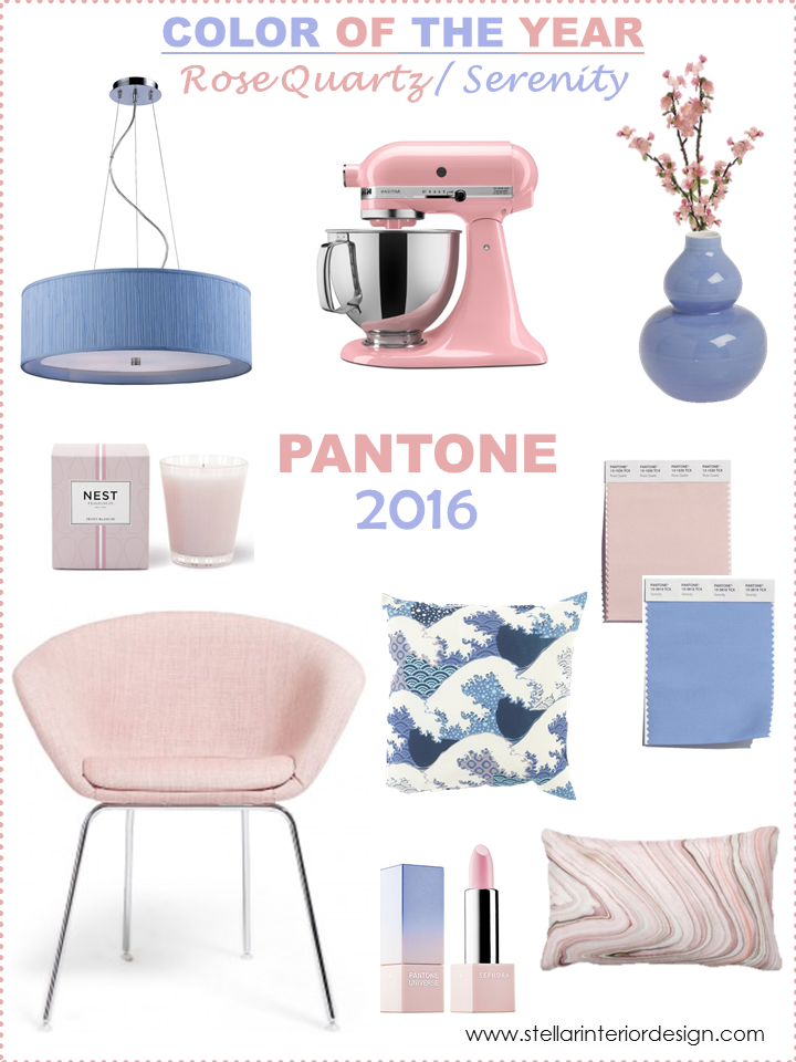 Pantone Color of the Year 2016 Color Trends for home Rose Quartz