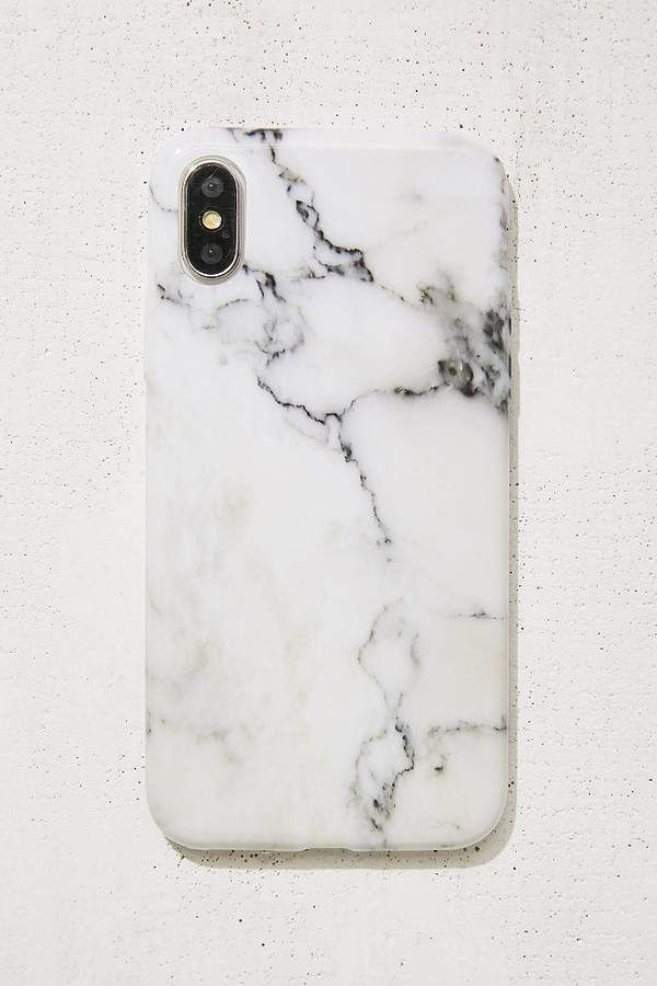 Urban Outfitters White Marble Iphone X Case With Images