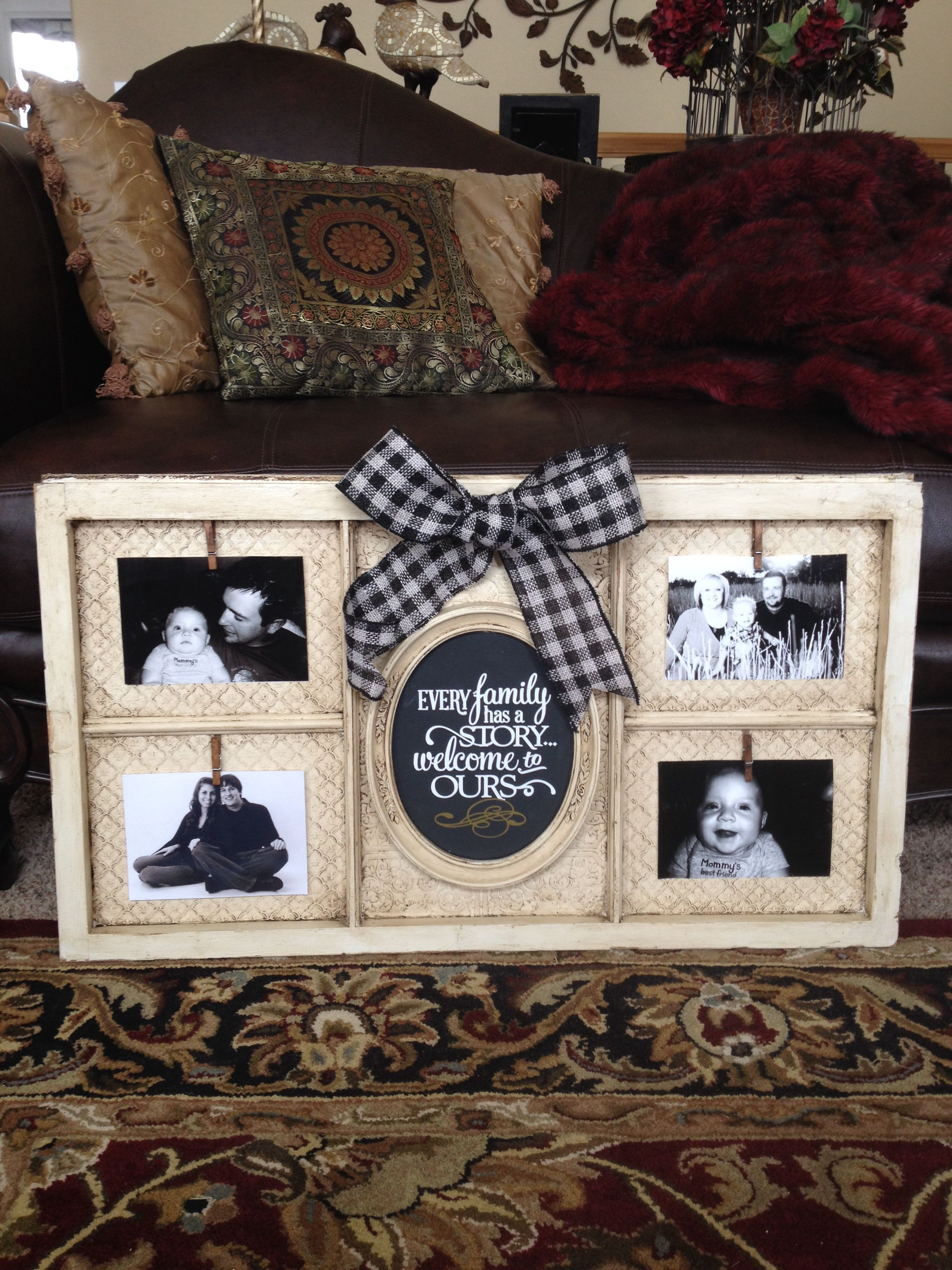 Wooden Window Frame Crafts Old Window And Chalk Paint Picture Frames Pinterest Chalk