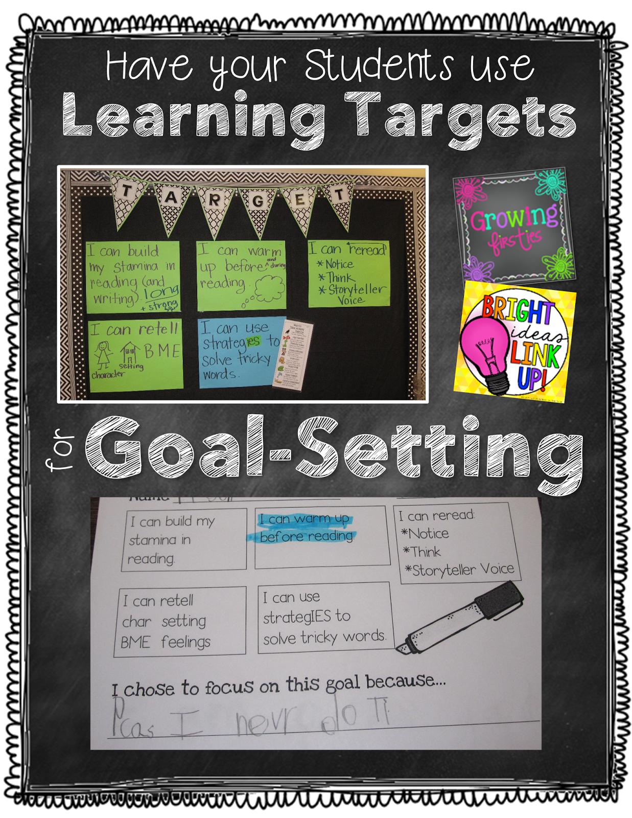 Student Goal Setting Based On Learning Targets