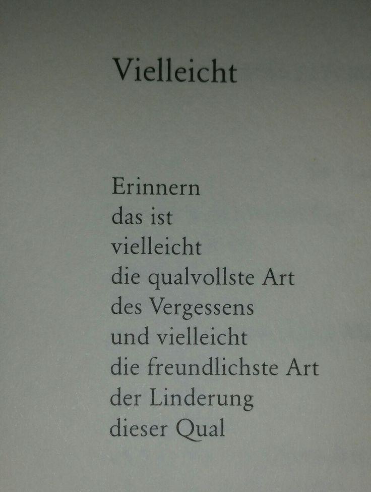 Erich Fried  es ist was es ist - Zitate/Gedichte - #