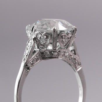 vintage engagement ring-- LOVE