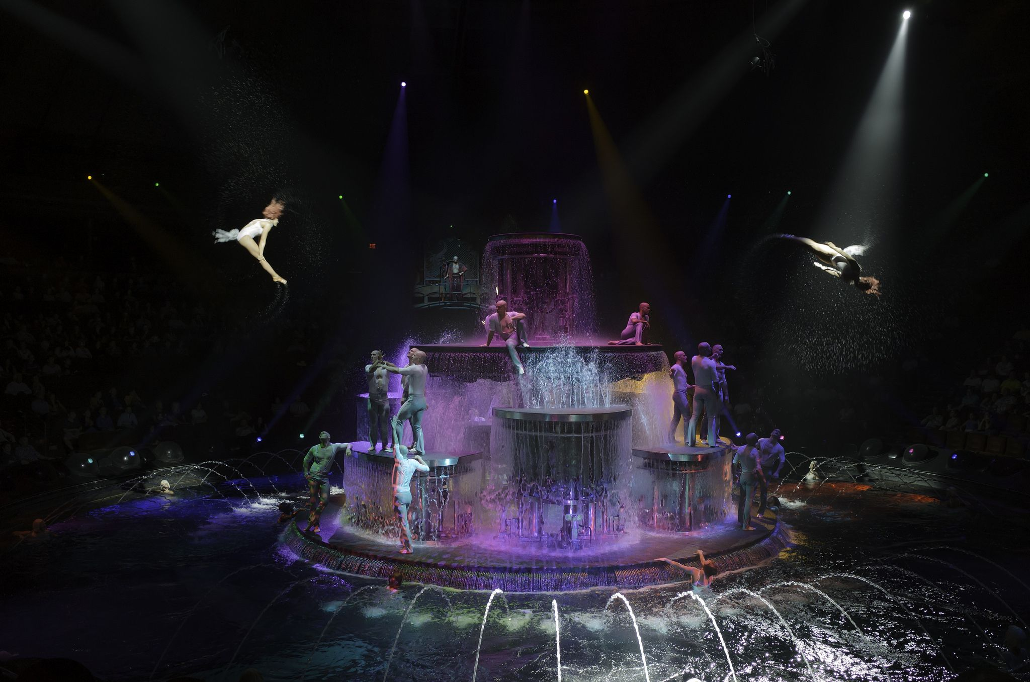 Le Reve during performance