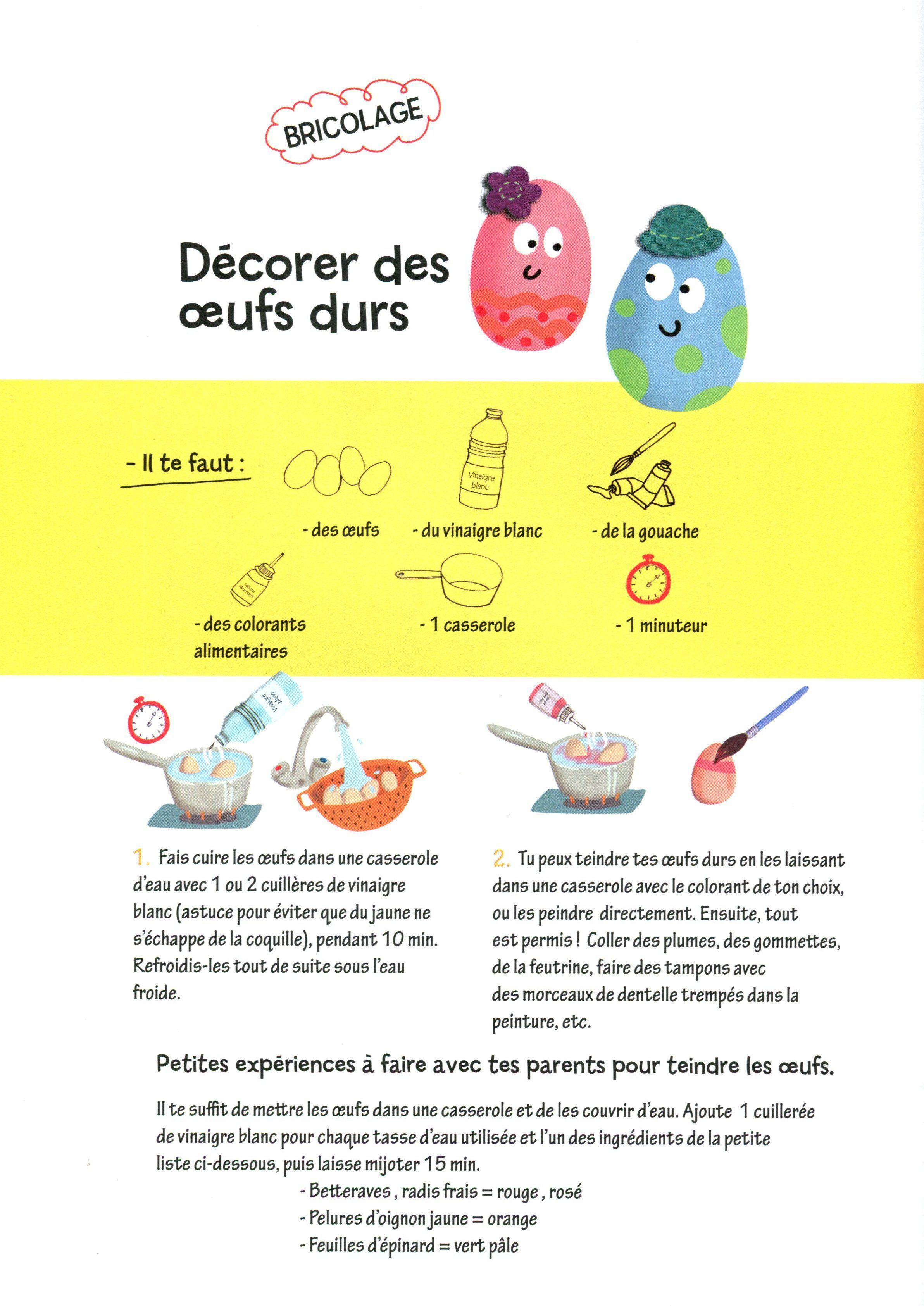 Pâques Recette De Cuisine Pour Enfant Arts And Crafts For Kids Crafts For Kids Saveur