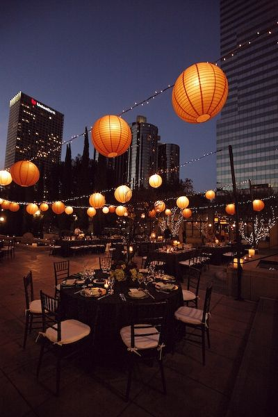 Nice Idea For Evening Rooftop Time #A1eventrentals