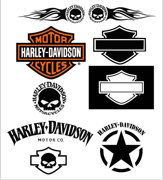 Motorcycle Svg Harley Davidson Svg Monogram Svg Svg Files Harley Davidson Svg Files For Cricut Harley