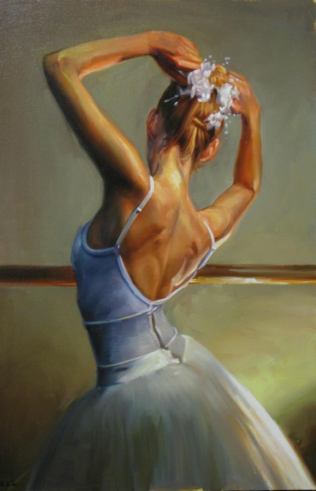 ANATOMY OF A DANCER \\ Carrie Graber | People Painting | Pinterest ...
