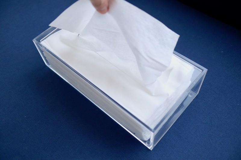 無印のティッシュケースをペーパータオル用に交換して グッと使いやすく Limia リミア ペーパータオル ティッシュケース ケース