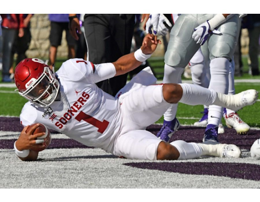 Oklahoma went into their game last Saturday ranked fifth