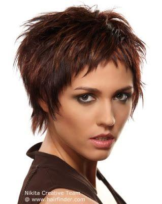 Pretty Beauty etc Pinterest Cortes de pelo corto para mujeres