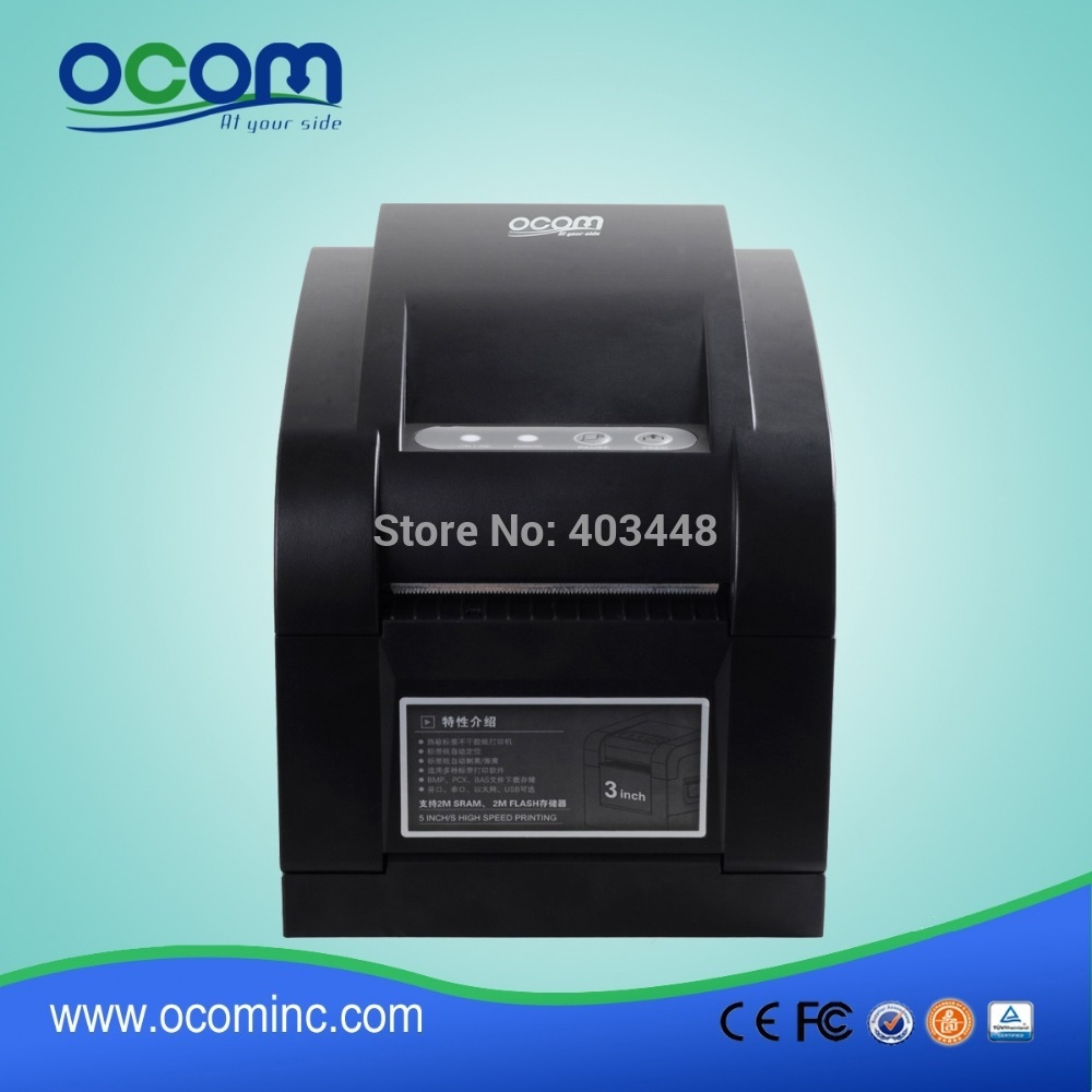 High quality and good price date code barcode thermal sticker cutter printer made by chinese factory