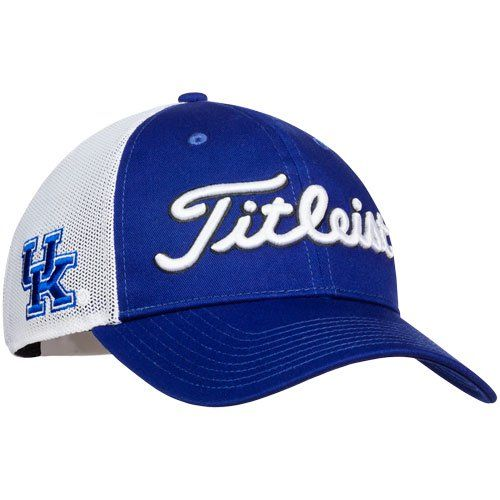 2c158c24ccf ... sale titleist twill mesh adjustable ncaa golf hat 477a6 4bc8a
