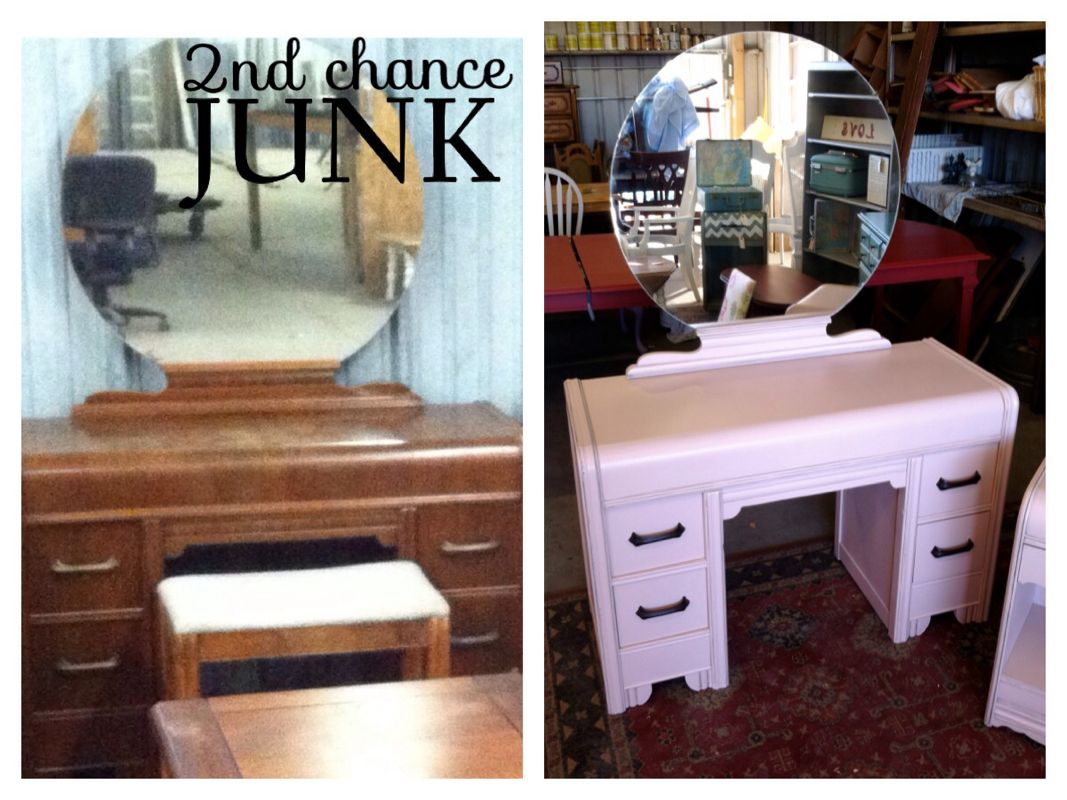 Before & After Dresser and Nightstand