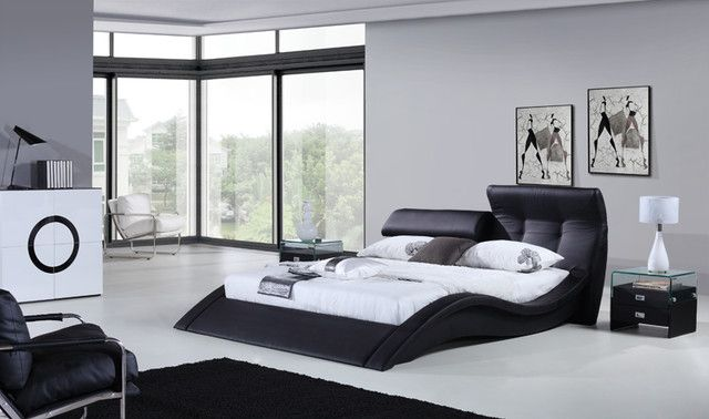 20 very cool modern beds for your room bed frames - Cool queen bed frames ...