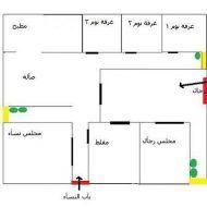 كروكي بيت شعبي House Plans How To Plan Floor Plans