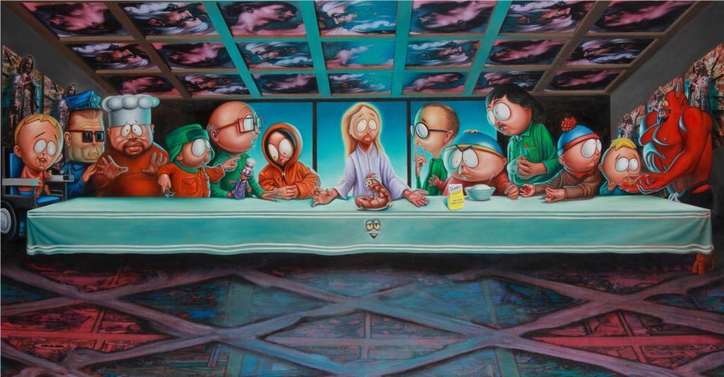 Biblical Cartoon Parodies Park Art South Park Tattoo South Park