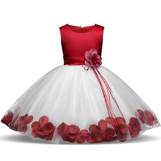Children's Clothes 5 6 7 Years Birthday Party Girls Dress with Flowers Tulle Kids Princess Dresses Robe Fille Enfant Ball Gown is part of Clothes Dresses Robes - Department Name Children Gender Girls Dresses Length KneeLength Fit Fits true to size, take your normal size Decoration Flowers Silhouette Ball Gown Style Cute Material Polyester,Voile,Cotton Sleeve Style Regular Builtin Bra No Model Number girl dresses with flowers Sleeve Length(cm) Sleeveless Pattern Type Floral Collar Oneck Kid US Size Body Length(cm) Chest Width(cm) Size 4T 75 58 110 5 78 60 120 6 85 64 130 7 89 67 140 8 89 67 140 9 94 69 150 10 94 69 150