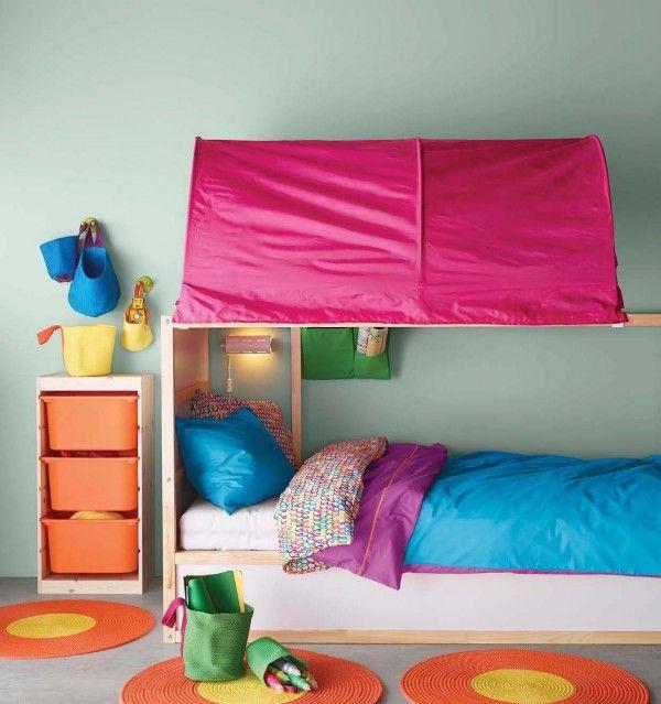 cute-kids-canopy-bed & cute-kids-canopy-bed | Kidu0027s Room | Pinterest | Canopy Kura bed ...