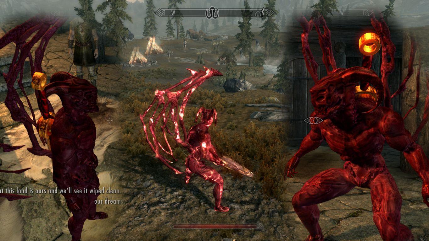Zigurdz Demon Form at Skyrim Nexus - mods and community | Skyrim ...