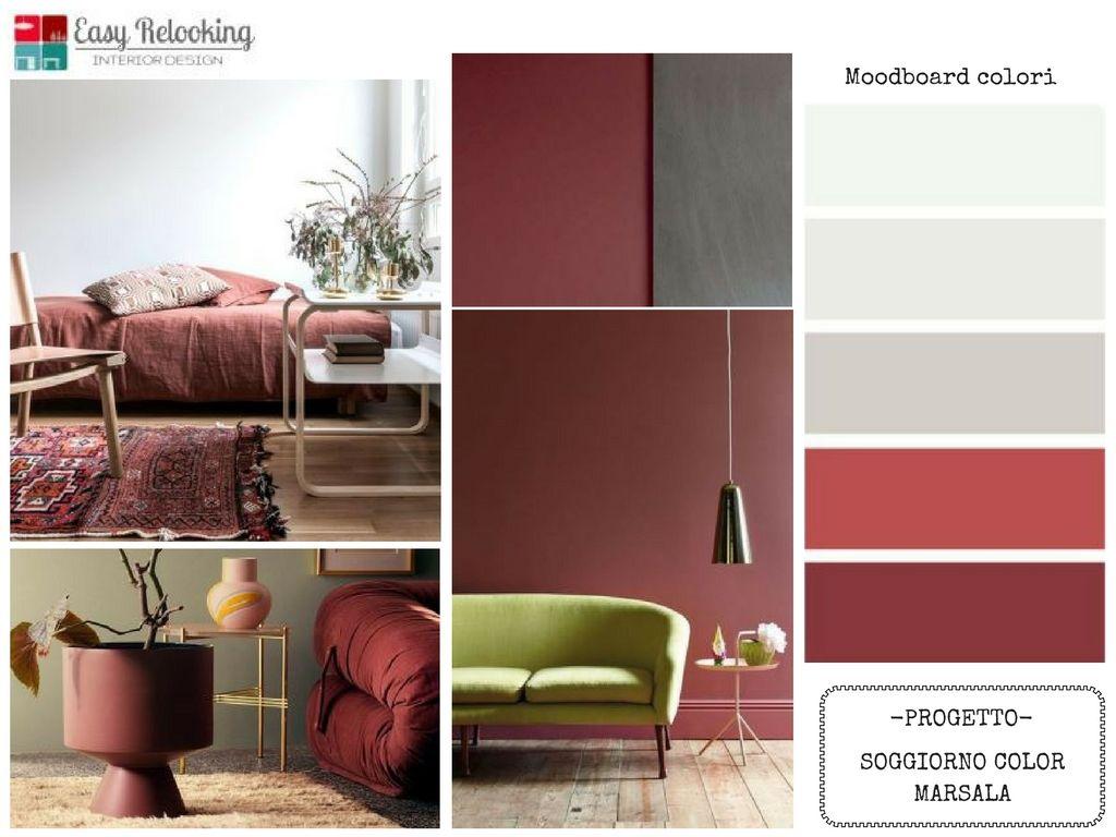Soggiorno color marsala home palette pinterest