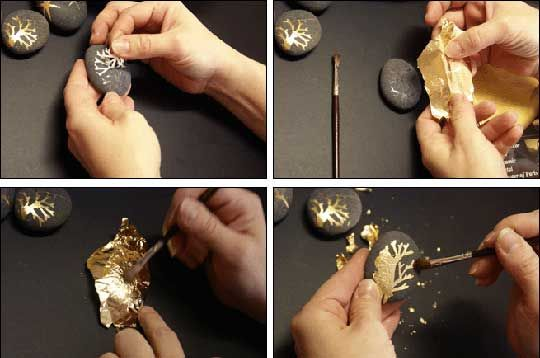 #DIY Inspiration: Turn Glass Empties into Gilded Treasures