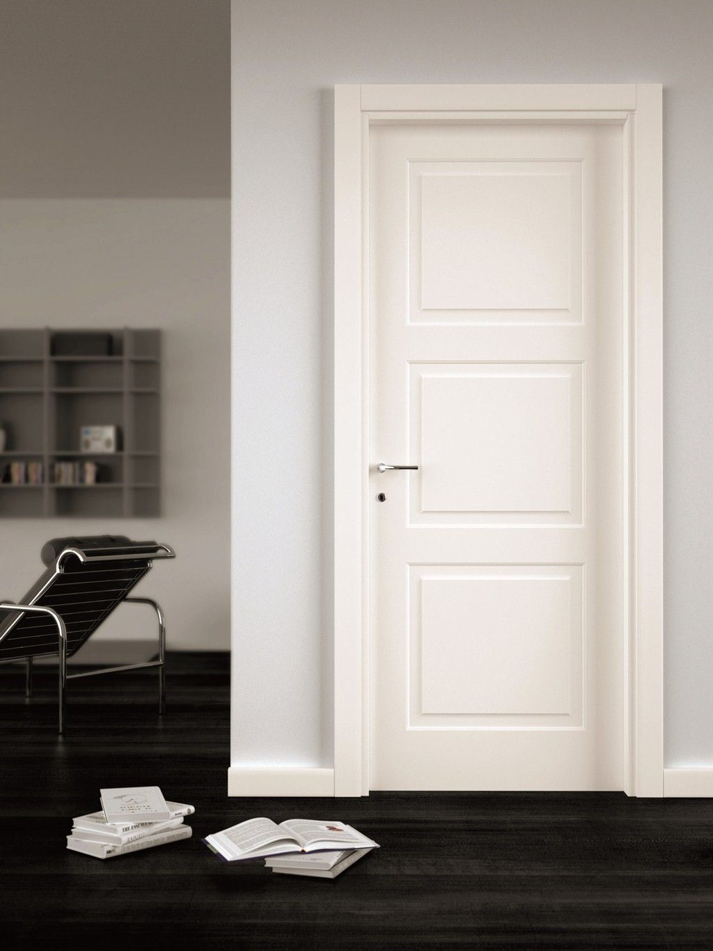 3 Panel Interior Door In 2020 White Interior Doors 3