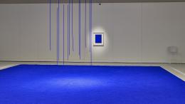 Yves Klein Des Cris Bleus Au Musee Soulages De Rodez Thierry