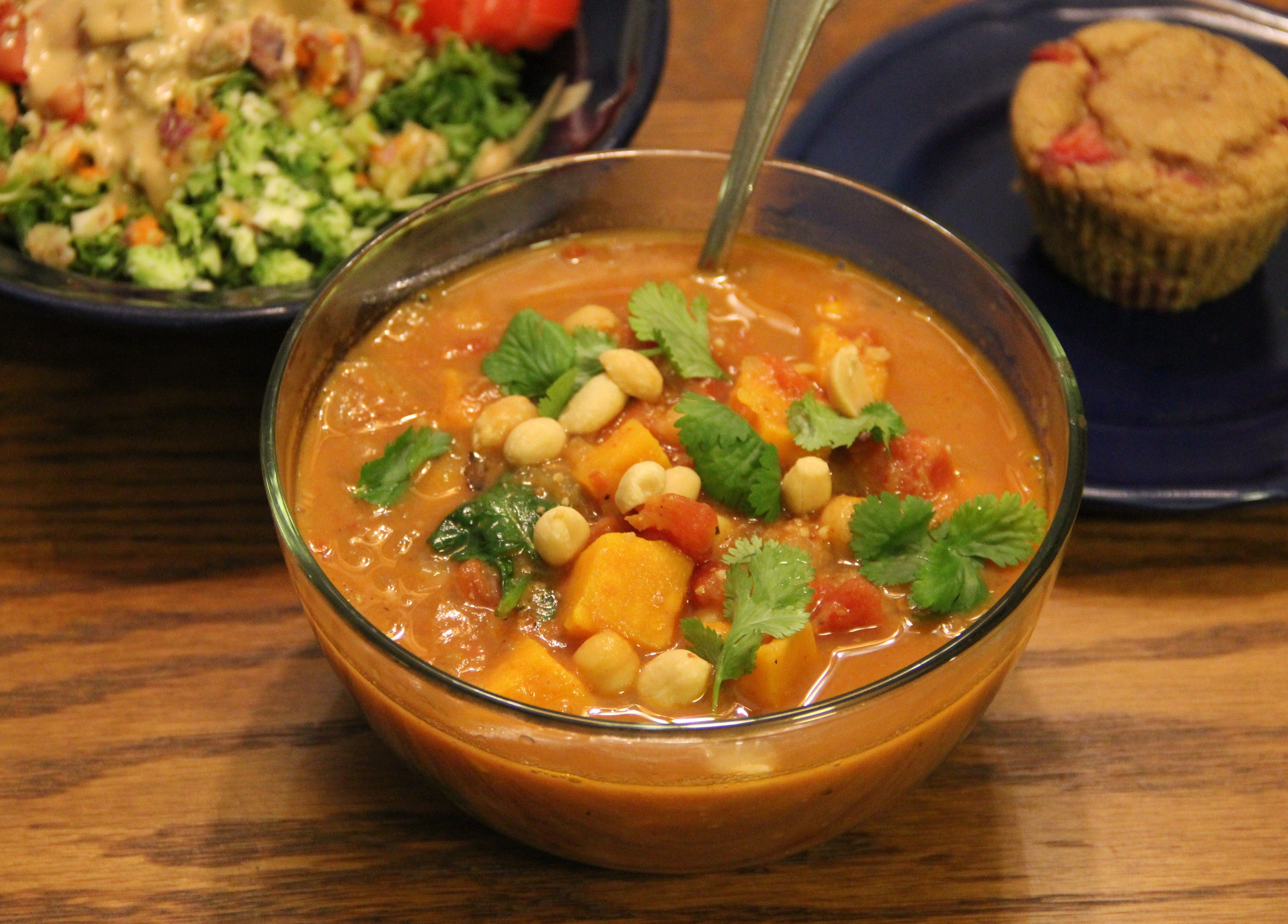 Soul Soothing African Peanut Stew From Oh She Glows Cookbook P 129 African Peanut Stew Oh She Glows Cookbook Recipes