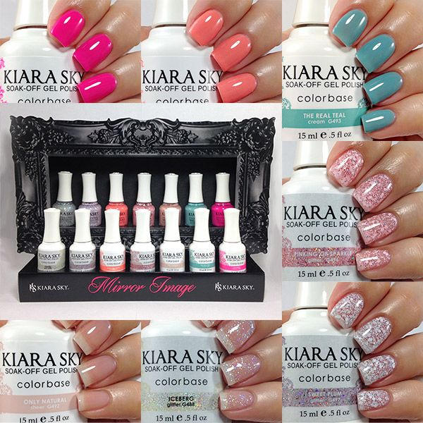 Kiara Sky Mirror Image Collection | Nails... | Pinterest | Mirror ...