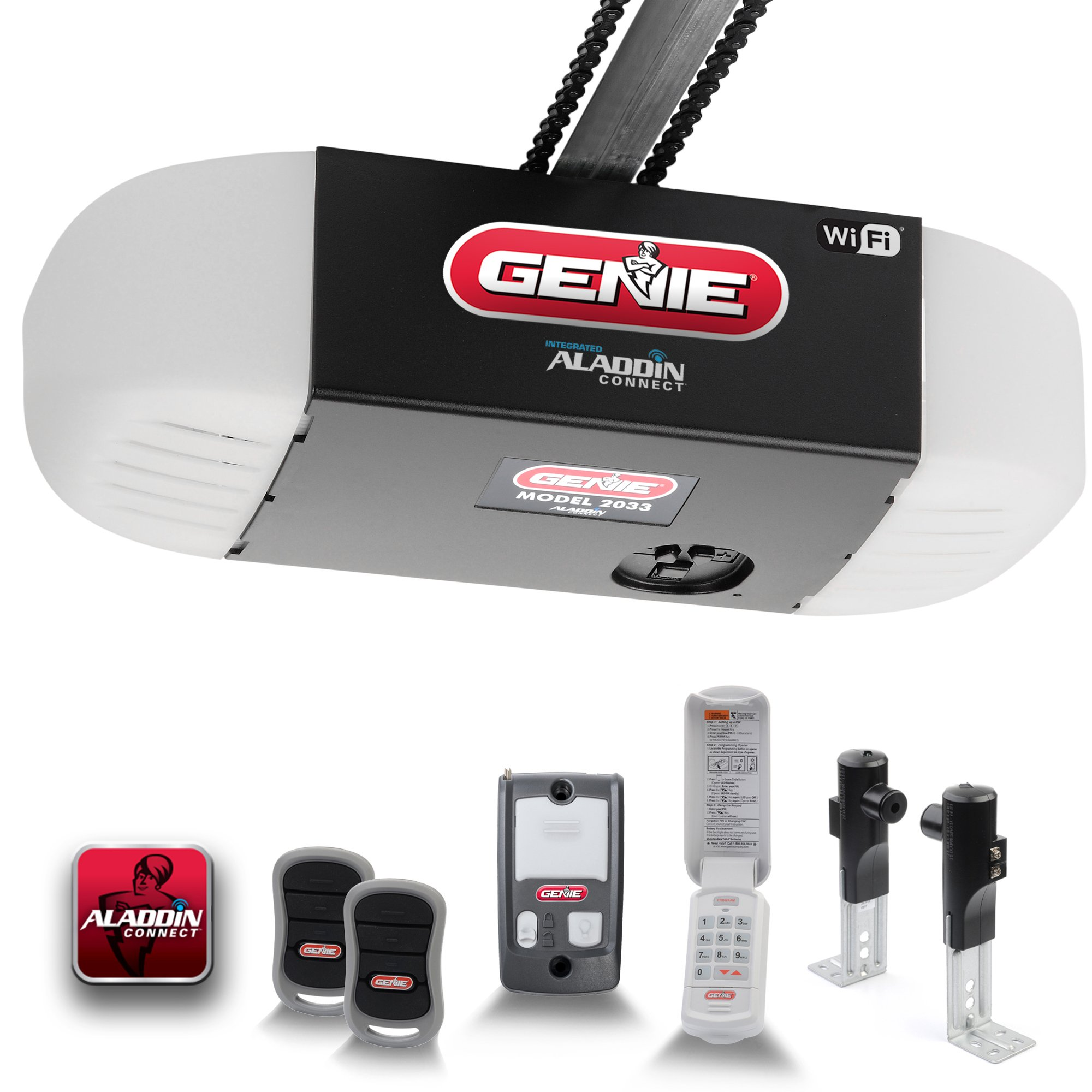 Chainglide Connect 1 2 Hpc Garage Door Opener Wi Fi Enabled