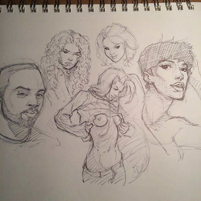 Day 10 #30daychallenge #head #sketch #study #sketchbook #sketching #drawing #art #portraits #pen #ballpointpen #ink
