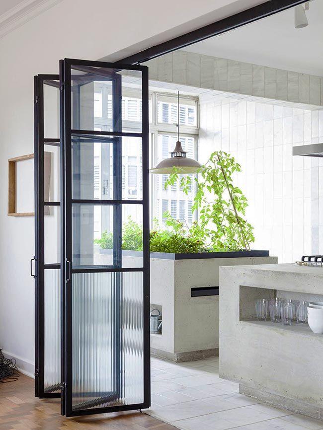 стеклянные двери гармошка гостинные в 2019 г