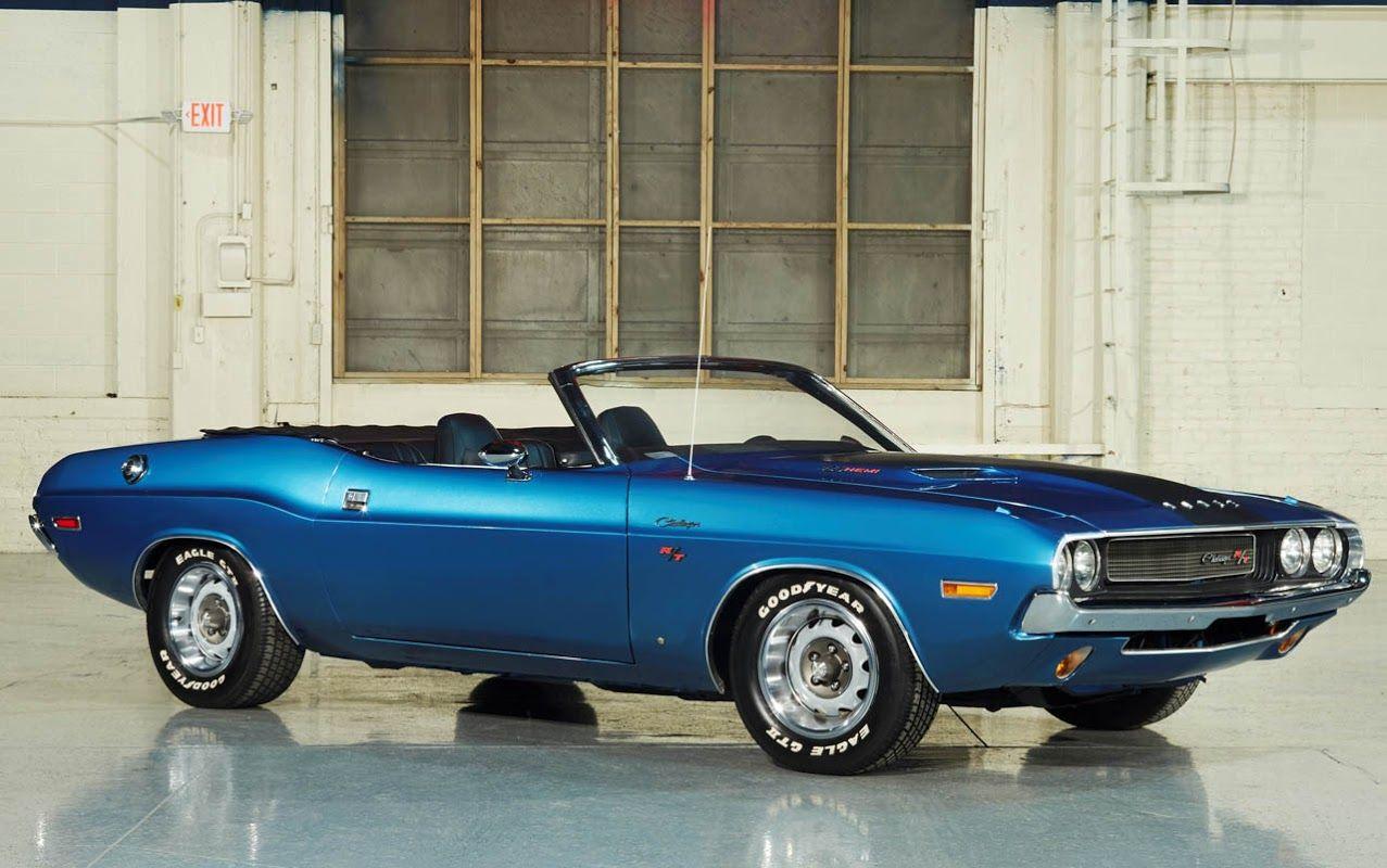 '70 Challenger R/T Convertible | Mopar | Dodge challenger ...