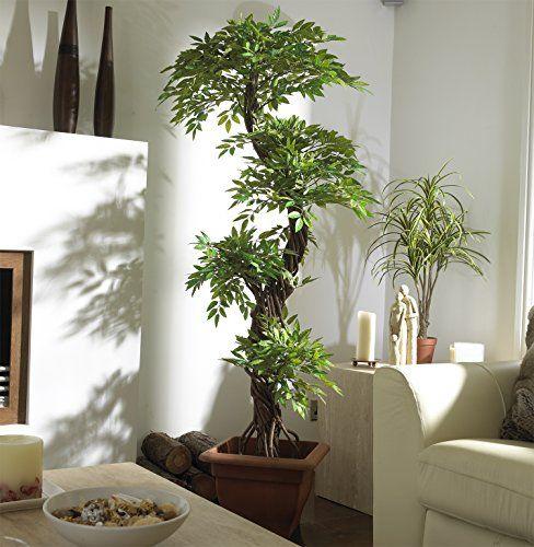 Chic Oriental Indoor Outdoor Quality Faux Japanese Spir Https Www Amazon Com Dp B01d3kvx3q Ref Living Room Plants Small Indoor Plants Artificial Plants