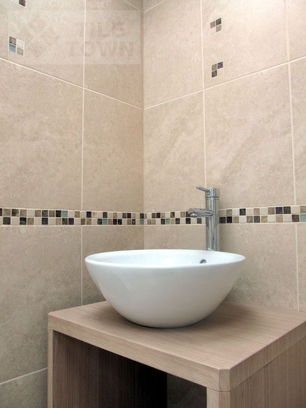 Bon Rapolano Marfil Empredor Cream Bathroom Wall Tile